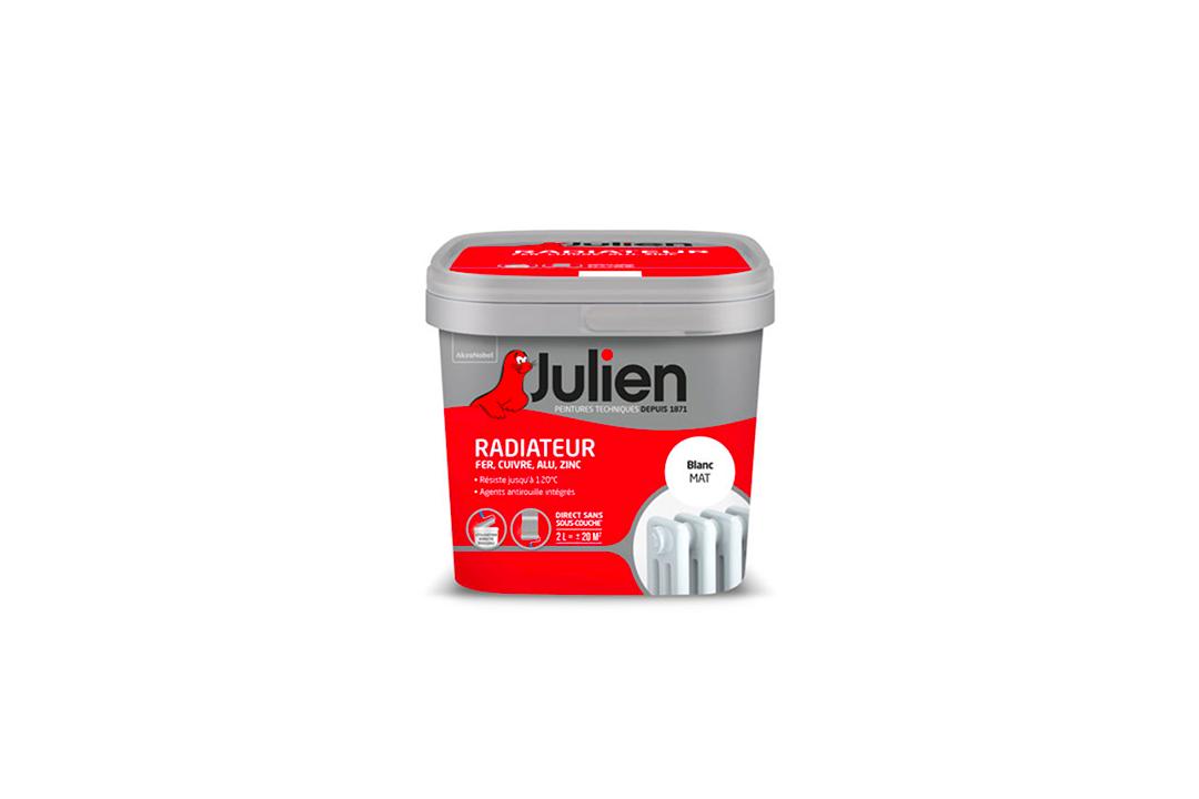 Peinture Julien - Radiateur -.0.75 Litre - Pas - Cher - Color - Deco - Nimes